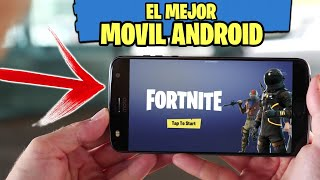 THE BEST PHONE ANDROID TO PLAY WITHOUT LAG FORTNITE / FORTNITE FOR ANDROID
