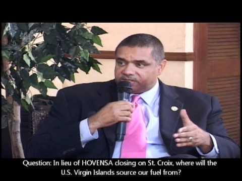Governor de Jongh Talks HOVENSA