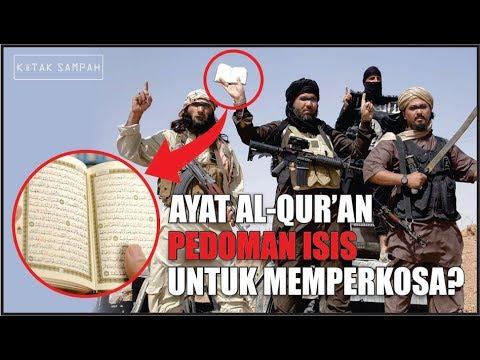 ISIS MENGGUNAKAN AYAT AL-QURAN SEBAGAI PEDOMAN UNTUK MEMPERKOSA WANITA