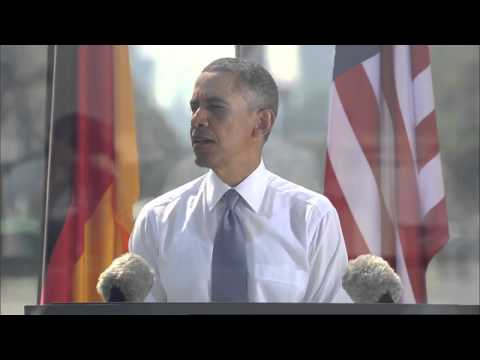 Barack Obama in Berlin: full speech
