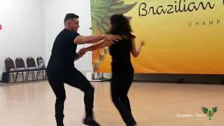 Diego Borges & Monalisa Cardoso - West Coast Swing demo - SHOW BR OPEN 2019