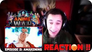 TRI-FORCE UNLEASHED!! | Anime War: AWAKENING REACTION!!!