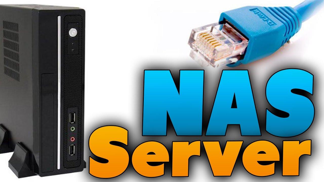 NAS - Server einrichten (Tutorial) Festplatten an einen Server anbinden
