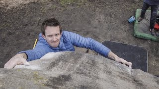 How To Scare A Frenchman On Gritstone Bouldering - Vlog 99