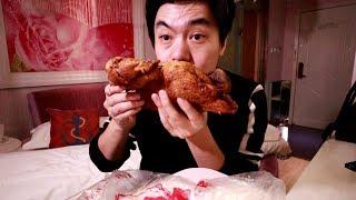 坐高铁5个小时,在情侣酒店吃了一只符离集烧鸡,我是不是沙雕
