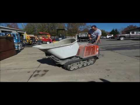 2014 Canycom SC75 concrete buggy for sale | no-reserve Internet auction  December 15, 2016