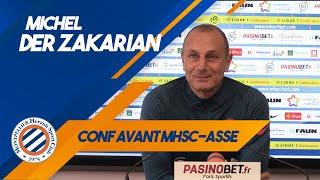 VIDEO: Michel Der Zakarian avant MHSC-ASSE