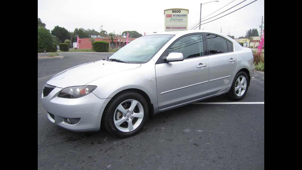 sold 2004 mazda 3 i sedan meticulous motors inc florida for sale