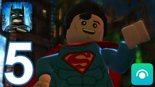 LEGO Batman: DC Super Heroes - Gameplay Walkthrough Part 5 (iOS, Android)