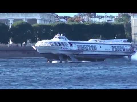 Hydrofoil Boat, Neva River, St Petersburg, Russia