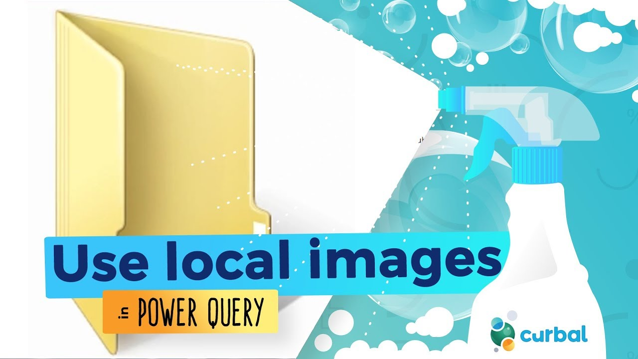 Import images in Power BI from local sources