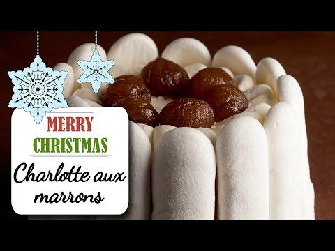 charlotte-façon-mont-blanc-à-la-crème-et-aux-marrons---recette-dessert-noël