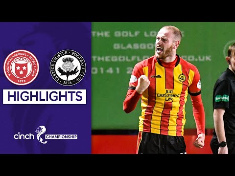 Hamilton Partick Thistle Goals And Highlights