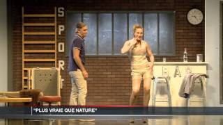 Paul Belmondo et Delphine Depardieu au Théâtre Princesse Grace