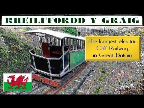 Aberystwyth Cliff Railway. Funicular Railway. Welsh Tourism.