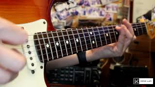 Little Wing - Jimi Hendrix Guitar Cover by Keng Lam - Lesson Available (by Jamie Harrison) видео