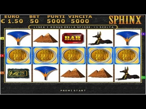 Sphinx slot machine gratis