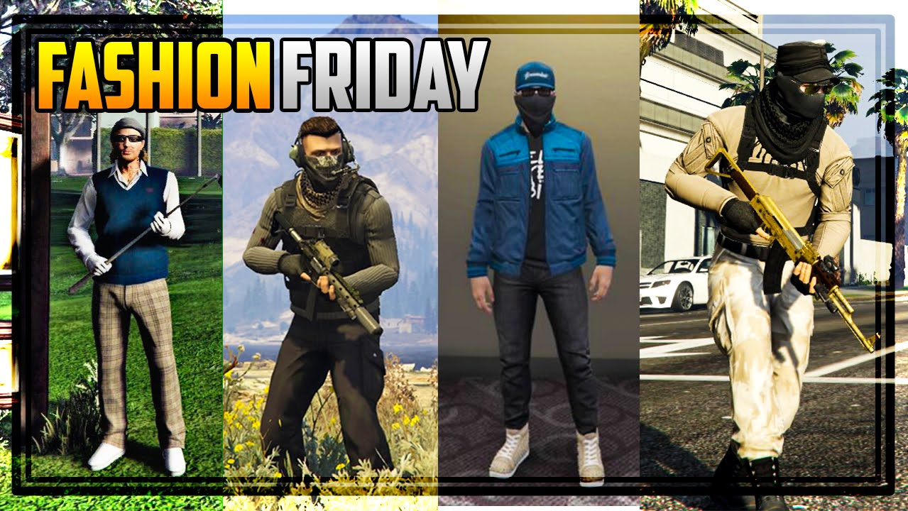 Gta 5 Fashion Friday 25 New Outfits Watch Dogs 2 Better Military