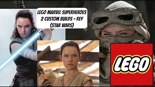 LEGO Marvel Superheroes 2 Custom Builds - Rey (Star Wars)
