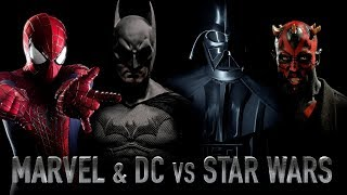MARVEL & DC vs STAR WARS
