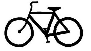 How to draw a simple bike