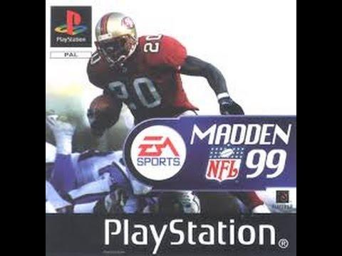 Madden NFL 1999 Denver Broncos VS Green Bay Packers