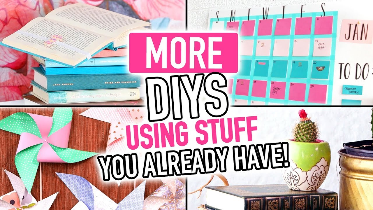 more diys using stuff you already have around your house diy