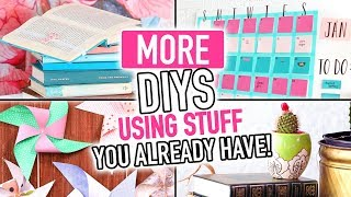 MORE DIYs Using Stuff You Already Have Around Your House! ~ DIY Compilation Video - HGTV Handmade