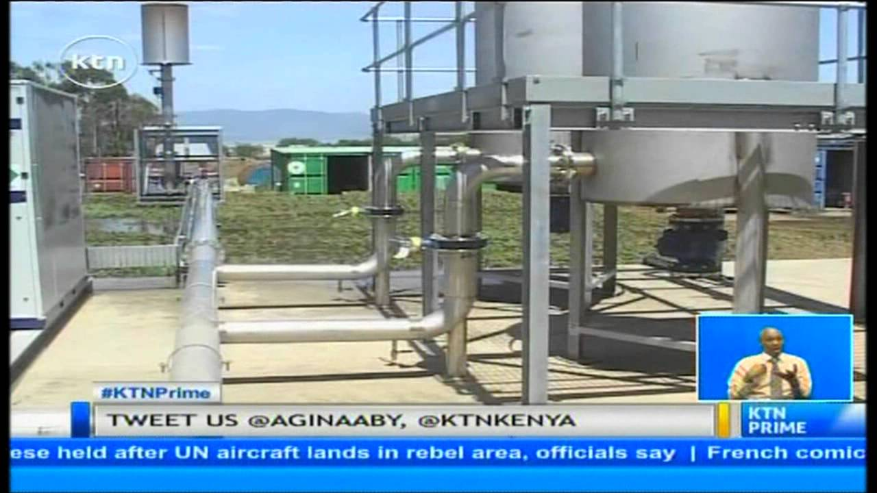 Kenya's first biogas plant worth 500 million shillings unveiled