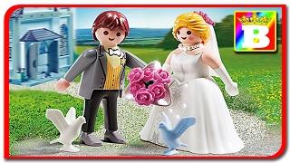 Playmobil 5163. Mirele si mireasa. Nunta de Sfantul Valentin unboxing si review Playmobil ...