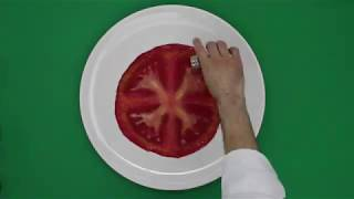 Drawing Tomato with Salt