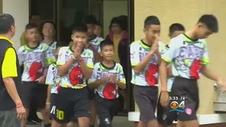 Recovered Thai Boys 'Wild Boars' Talk About Cave Rescue For First Time