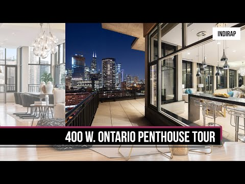 Inside A $4 Million Dollar Chicago Penthouse | INDIRAP Property Tour