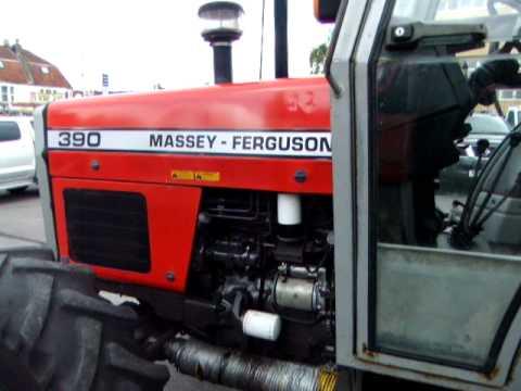 Massey Ferguson 390 4wd tractor  YouTube