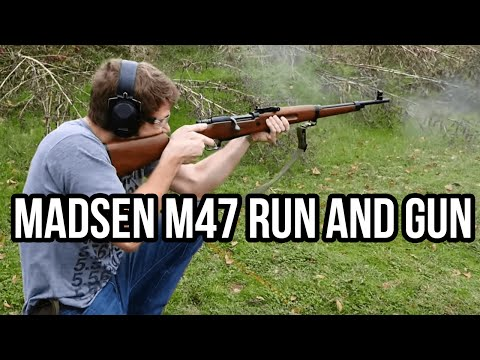 Madsen M47 Run and Gun (The Last Bolt Action Military Infantry Rifle)