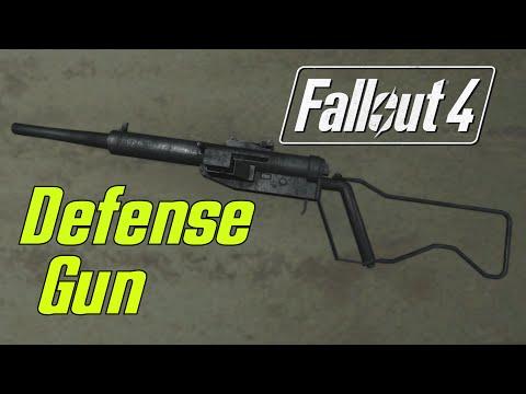 DEFENSE GUN - Fallout 4 Mod Review