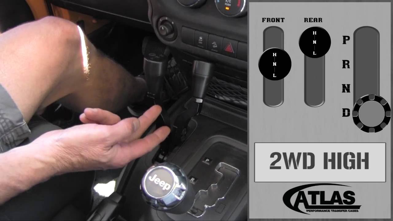 How to Shift an Atlas 2 Speed Transfer Case with an Automatic Transmission