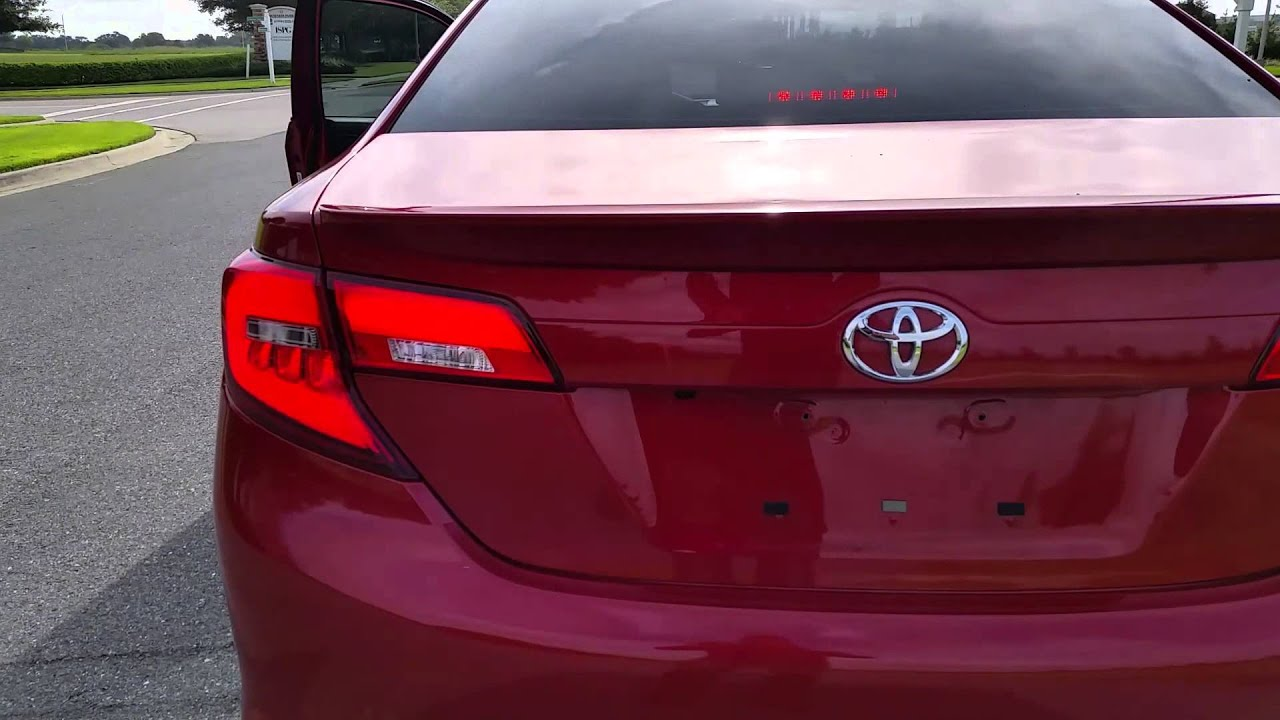 2012-14 Toyota Camry LED Taillights