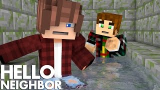 Minecraft Hello Neighbor - Secret In The Grave (Minecraft Roleplay)