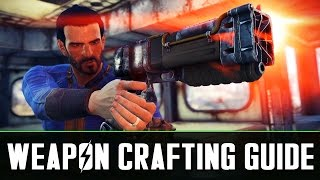 Fallout 4: Weapon Crafting Guide