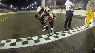 Onboard Losail : Qatar Superbike Championship 2014/2015 Round1 Race 2 ( Full Race ) Ooredoo Racing