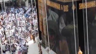 Live Azaan at Masjid e Haram. Baitullah. Khana Kaaba December 2015