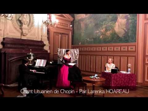 Chant Lituanien de Chopin - 03 Février 2017