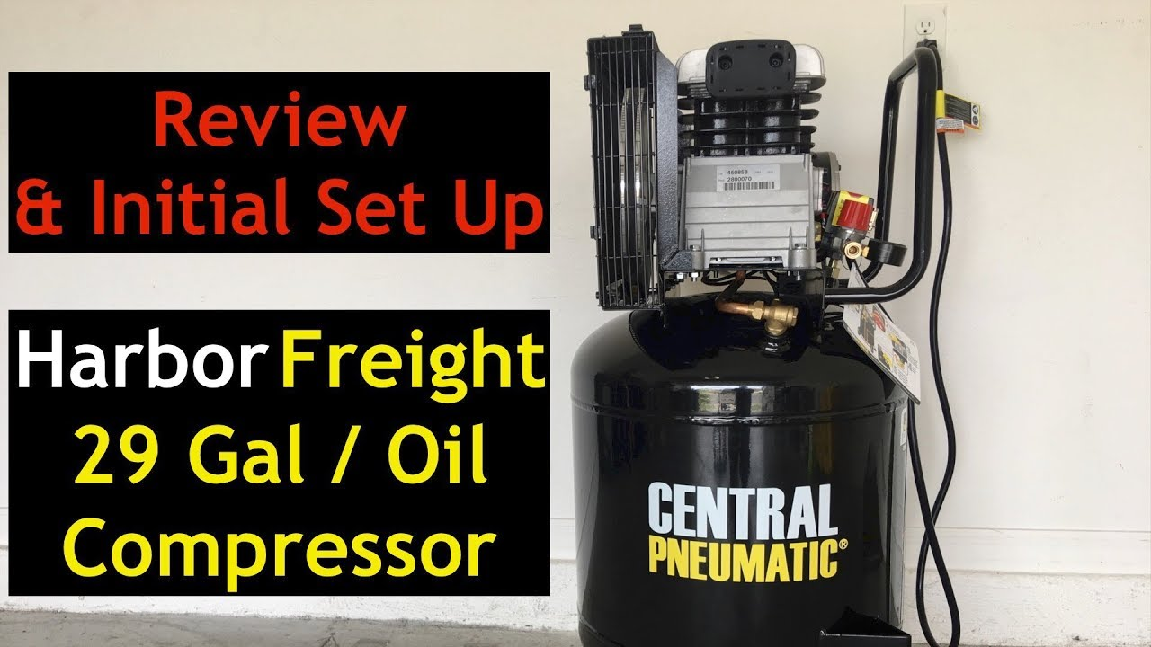 Harbor Freight 29 Gallon Compressor Review