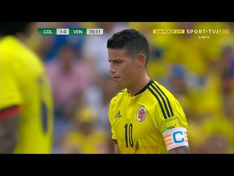 James Rodriguez vs Venezuela (H) - 16/17 HD by JamesR10™