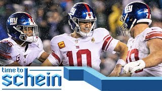 Eli Manning's RETURN overshadowed by Eagles' win | Time to Schein