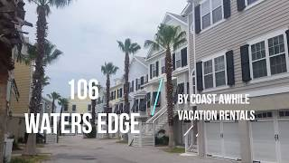 106 Waters Edge - Folly Beach Vacation Townhome