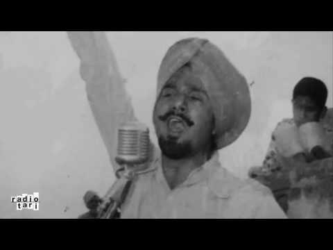 Muchh-phutende Gabhru (Rare) - Kuldip Manak - Radio Tari