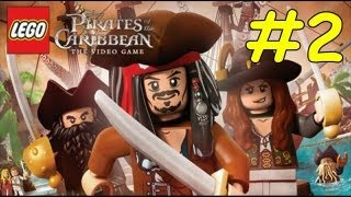 Lego Pirates Of The Caribbean Walkthrough - Chapter 2 Tortuga