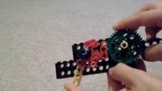 Lego gun mechanism/reciprocating motion